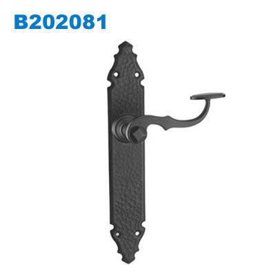 Rustic door handle/UK plate door handle/South Africa door lock/двери входные/Maçanetas B202081