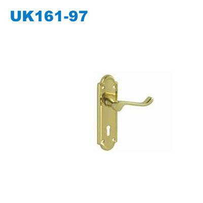 KENYA door handle/UK lever handle/South Africa plate handle/Klamka drzwiowa/дверные Ручки 161-97