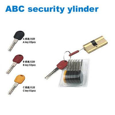 exterior door lock/security cylinder/yale/Wkładki do zamków/дверные замки  ABC security ylinder