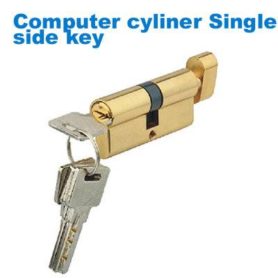 exterior door lock/security cylinder/yale/drzwi verte/замки Computer cylinder Single side key