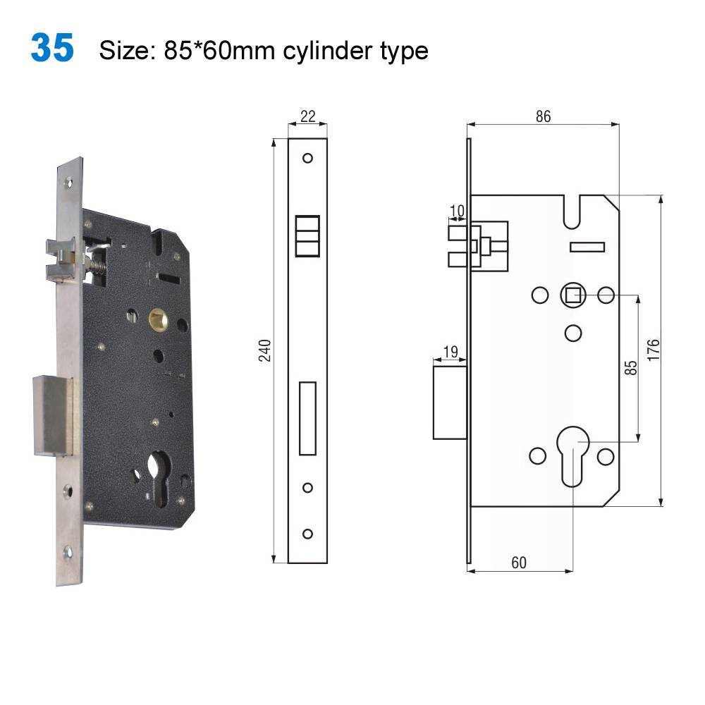 mortice lock/mortise lock/yale lock/TÜRSCHLÖSSER/дверные