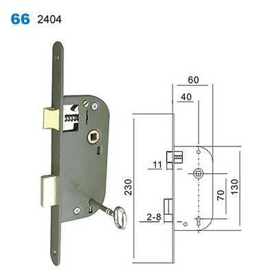 lock body/door handle lock/lock mechanism/Drzwi egoline/двери входные 66-2404