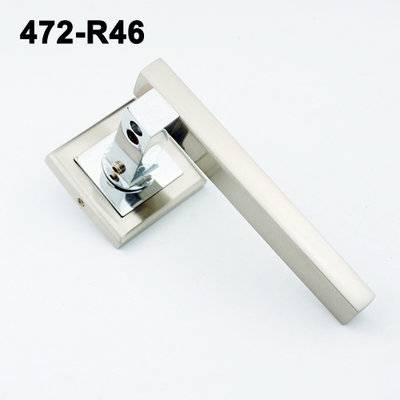 Exteriordoorhandle/Door Handle Lock/Klamki na krotkim szyldzie/Ukraine door handle/замков 472-R46