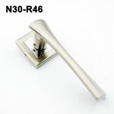 Lever handle/Door handle/mortise lock/rose   handle/аварийное открытие замков  N30-R46