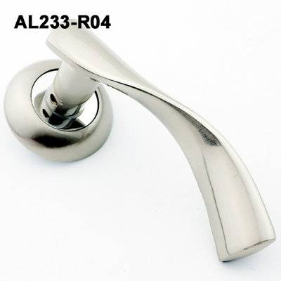 Exteriordoorhandle/Handle Lock/Klamki na krotkim szyldzie/Ukraine door handle/ AL233-R04