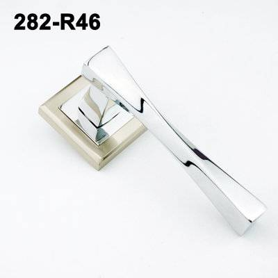 lever door handle/ door handle with lock/Russia door handle/door levers/замки 282-R46