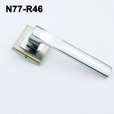 Exteriordoorhandle/Handle Lock/Klamki na krotkim szyldzie/Ukraine door handle/замков N77-R46