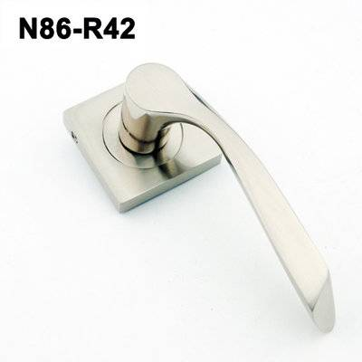 Exteriordoorhandle/Handle Lock/Klamki na krotkim szyldzie/Ukraine door handle/ N86-R42