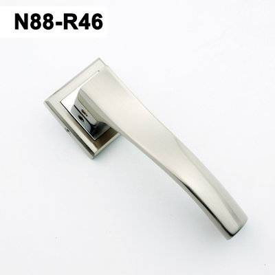 Exteriordoorhandle/Handle Lock/Klamki na krotkim szyldzie/Ukraine door handle/ N88-R46