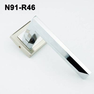Exteriordoorhandle/Handle Lock/Klamki na krotkim szyldzie/Ukraine door handle/ N91-R46