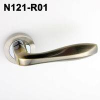Exteriordoorhandle/Handle Lock/Klamki na krotkim szyldzie/Ukraine door handle/замков N121-R01