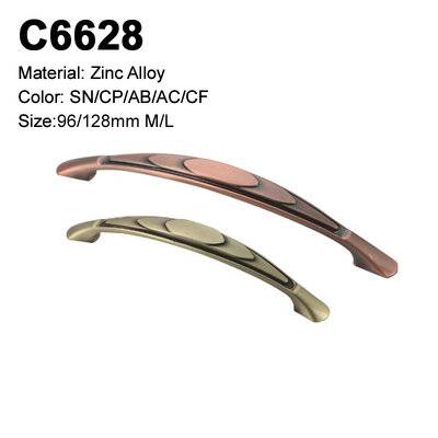 Classic Cabinet Handle Zamak Furniture Decorative handle single hole cabinet handle C6628