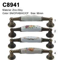 Ceramic Furniture Decorative handle ceramic cabinet handle C8941