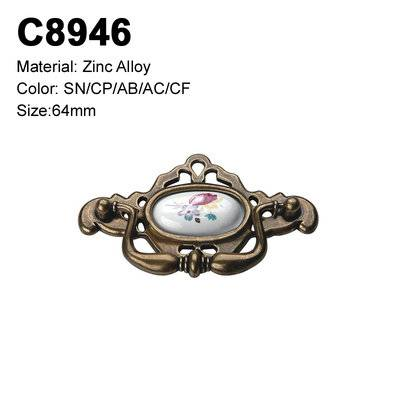 Ceramic Furniture Decorative handle ceramic cabinet handle C8946
