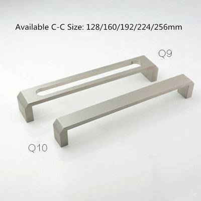 Cabinet Handle Furniture Decorative handle Aluminum Cabinet Handle Q9 Q10