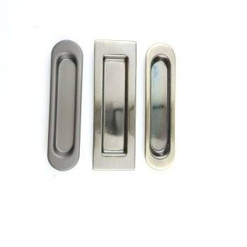 Set flush door Push Pull Flush Sliding Door Handle hidden cabinet handle flush pull handle
