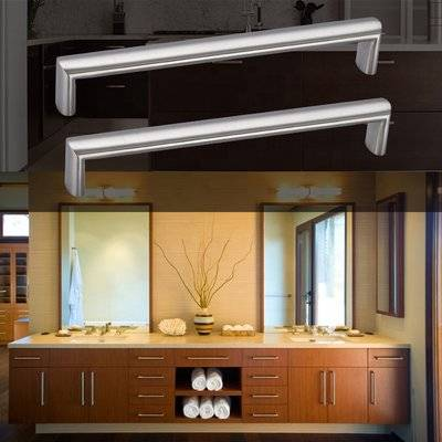 Cupboard Door Cabinet Drawer ss T Bar Bedroom Furniture pull Stainless Steel Handle for cabinet