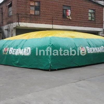 Supplier of inflatable jump air bag for skiing, adventure, mountain, freestyle