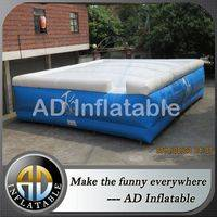 Jumping infltable,skiing big airbag,Inflatable jumping cushion,jumping air cushion,jump inflatable attraction