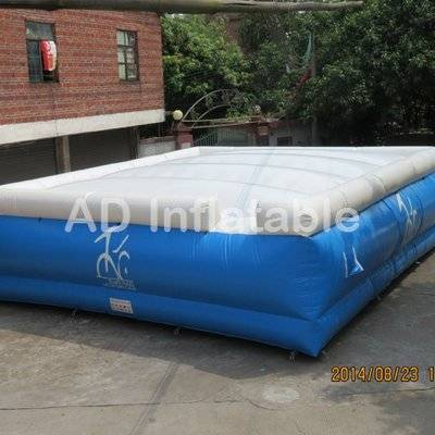 Inflatable jumping cushion, challenging inflatable jump inflatable attraction, air cushion for jump