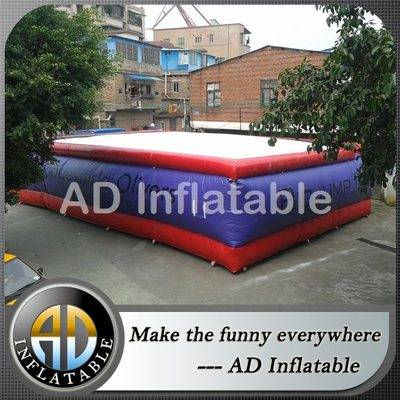 Big airbag stunt with custom logo, Stunt Jump Airbag, inflatable air bag jump stunt airbag