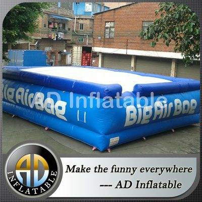 Factory price inflatable jumping pillow, Big Air Bag Jump/stunts, extreme adventure big air bag