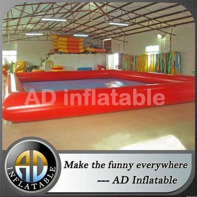 0.9 mm pvc tarpaulin inflatable pool large inflatable swimming pool