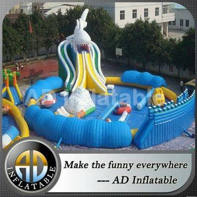 Commercial giant inflatable water park/inflatable water slides for adults or kids
