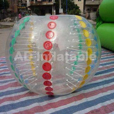 Wholesale inflatable body bumper ball suit, customized inflatable ball suit company