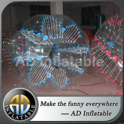 Exciting body game TPU / PVC soccer bubble / wholesale inflatable ball suit football for sport