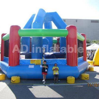 Classical commercial interactive inflatable game, factory price park bounce house for sale