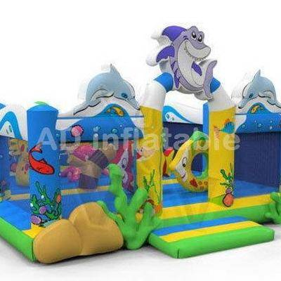 Hot Sale Undersea Animal World Inflatable Park, inflatable water park, inflatable aqua park