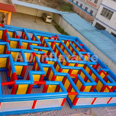 Entertainment inflatable maze game for rental, large inflatable toys for sale