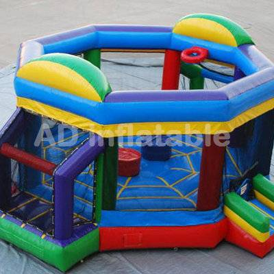 Factory customized cheaper inflatable joust arena for adult, inflatable fighting arena for sale