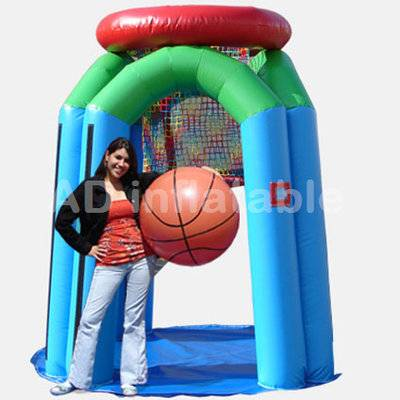 Funny Monster Basketball Inflatable Basketball hoop cheap on sales / large outdoor garden games