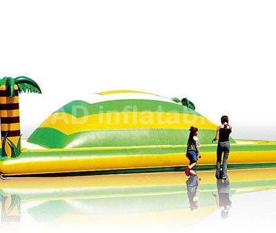 Inflatable climbing mountain, inflatable soft air jumping mountain