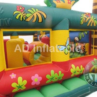 Jungle Theme Cheap Inflatable Bounce House for Sale/China inflatable bouncing house
