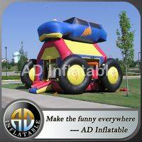 Car design inflatable bounce,Monster trunk inflatable car,Monster Cars Bouncer,funny jump houses for kids,water jump houses,inflatables bouncers