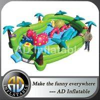 Forest theme inflatable bounce,Bounce in the jungle,Funny jumping House,bouncy houses for sale,kids bouncy houses,indoor bouncy houses