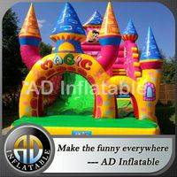 Magic inflatable slides,Inflatable castle slide,slide for outdoor events,customized jumping house,water park manufacturer