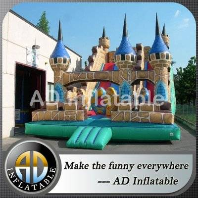 High quality castle water slides backyard, wholesle price backyard inflatable water slide