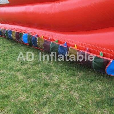 TRIPLE LINDY  3 lanes giant waterslide / cheap inflatable bouncers made in China