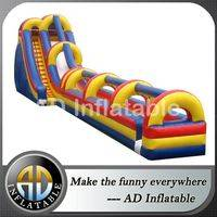 Inflatable slip and slide,Giant inflatable slip slide,Inflatable long slide,inflatable slip n slide,waterslip and slide inflatable