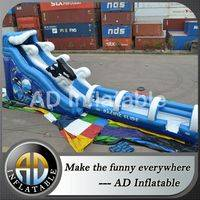 Water slip Slides,Long inflatable slip slide,Wave giant waterslides,water slide slip,China water slide slip