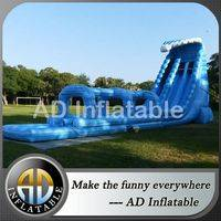 Double lane giant water slide,Tsunami Water slide,kids pool and slide,pool slides for kids,bouncy castles,bouncy house