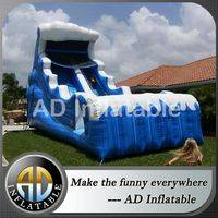 Tidal Wave waterslide,Drop waterslide,Inflatable dry slide,backyard inflatable slide,backyard water slides for kids,backyard pool slides