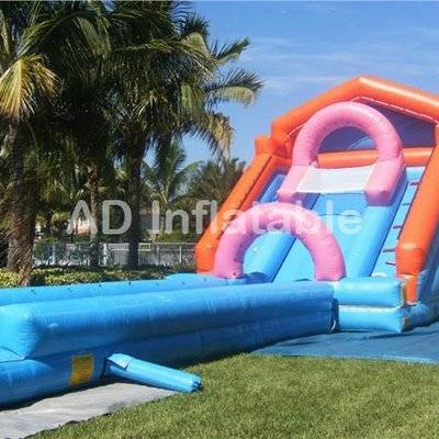 Ultimate Storm Wet and Wild Water Slide Combo/water slide and bounce house manufacturer