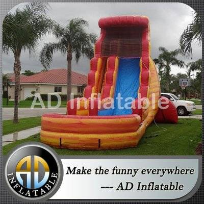 Huge waves Pipeline inflatable waterslides/top quality bounce round water slide