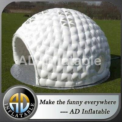 Inflatable party tent sport dome tent outdoor, inflatable concrete dome structures for sale