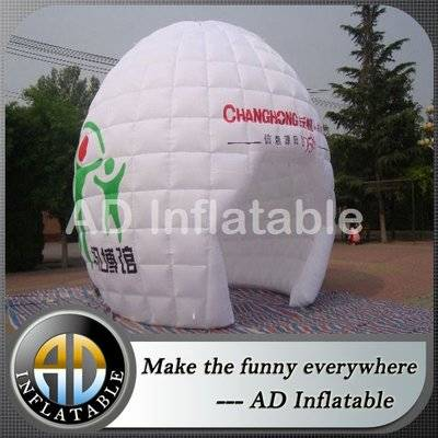 Custom small outdoor advertising inflatable dome tent for event, inflatable canopy or shelters
